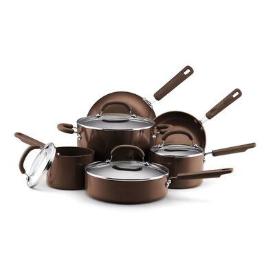 EarthPan Earth Pan II Aluminum 10-Piece Cookware Set