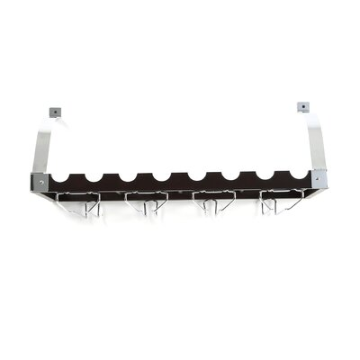 Concept Housewares 8 Bottle Wall Mounted Wine Rack