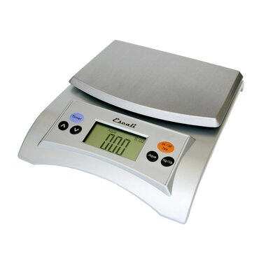 Escali Aqua Digital Scale in Satin