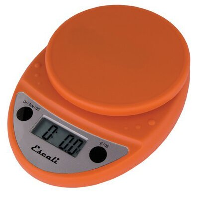 Escali Primo Digital Scale in Pumpkin Orange