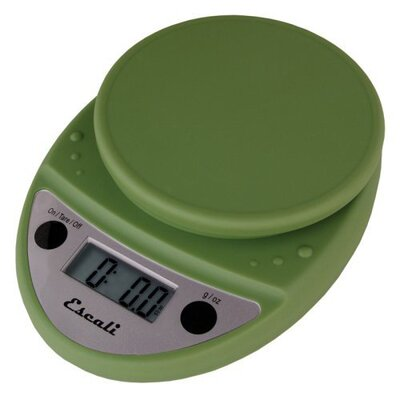 Escali Primo Digital Scale in Terragon Green