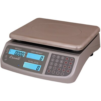 Escali 13 lbs. C-Series Counting Scale