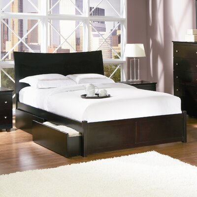 Milano Storage Platform Bed