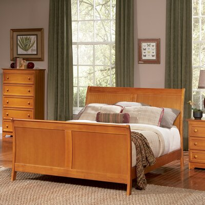 Atlantic Furniture Bordeaux Sleigh Bed