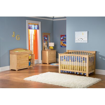 Atlantic Furniture Columbia 4-in-1 Convertible Crib Set