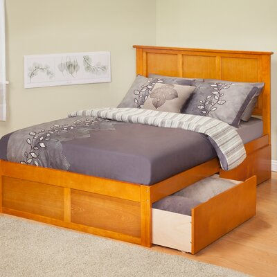 Urban Lifestyle Madison Bed with 2 Bed Drawer Sets