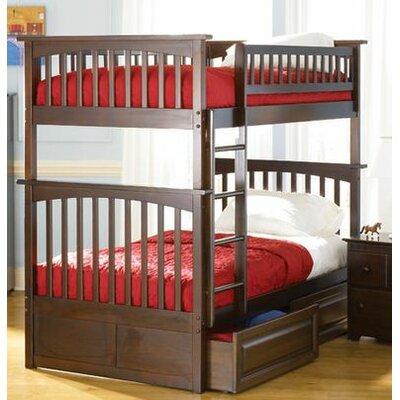 Atlantic Furniture Columbia Twin Storage Bunk Bed
