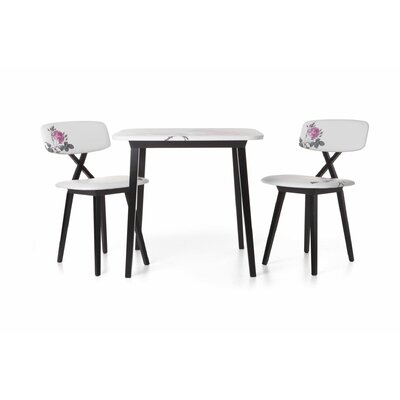 Moooi 5 O'Clock 3 Piece Dining Set