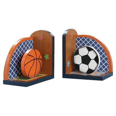 <strong>Teamson Kids</strong> Little Sports Book End (Set of 2)