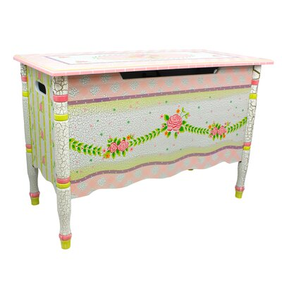 Pink Crackle Girl's Toy Box