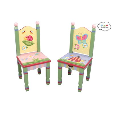 Teamson Kids Magic Garden Kids' 3 Piece Table and Chair Set