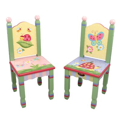 Teamson Kids Magic Garden Additional Kid's Desk Chairs (Set of 2)