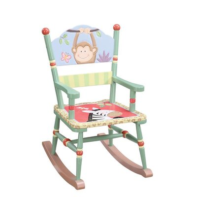 Teamson Kids Sunny Safari Kid's Rocking Chair