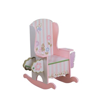 Potty Bouquet Girl's Kid's Rocking Chair