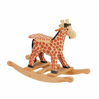 Teamson Kids Safari Giraffe Kid's Rocking Chair