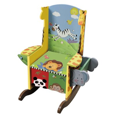 Teamson Kids Sunny Safari Potty Kid's Rocking Chair