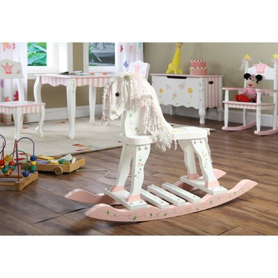 Teamson Kids Princess and Frog Rocking Horse
