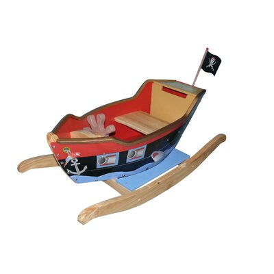 Teamson Kids Pirate Ship Rocker