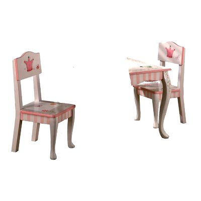 Teamson Kids Princess and Frog Kids Chairs