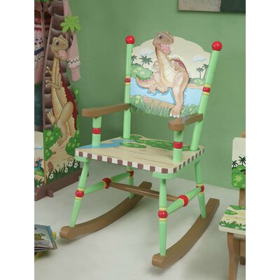 Dinosaur Kingdom Children's Rocking Chair