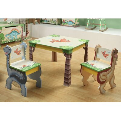Teamson Kids Dinosaur Kingdom Children's Desk Chairs (Set of 2)