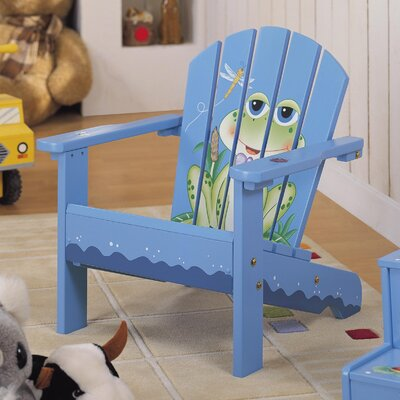 Froggy Porch Kid's Adirondack Chair