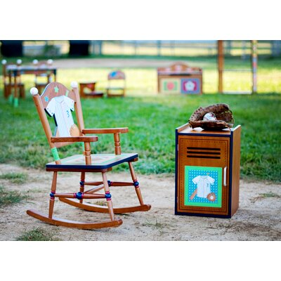 Teamson Kids Little Sports Fan Kid's Rocking Chair
