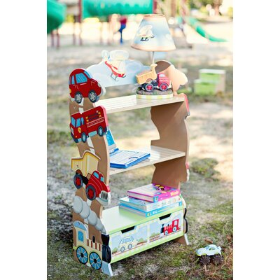 Teamson Kids Transportation Bookshelf