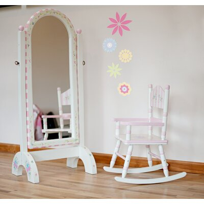 Teamson Kids Bouquet Girl's Standing Mirror