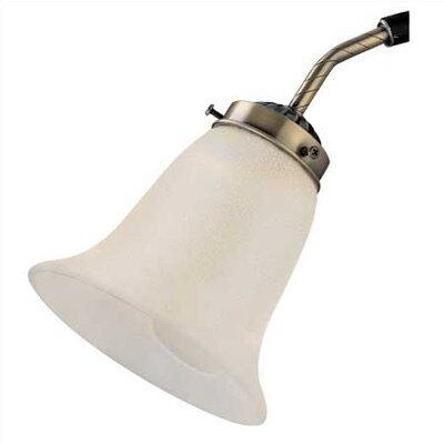Sea Gull Lighting Ceiling Fan Glass Shade in Excavated Pearl
