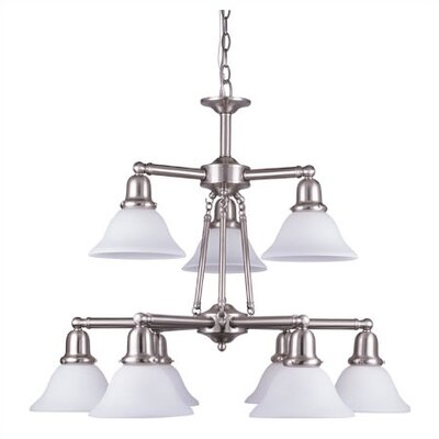 Sussex 9 Light 100W Chandelier