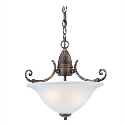Canterbury 1 Light Fluorescent Inverted Pendant