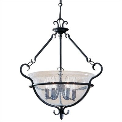 Sea Gull Lighting Manor House 6 Light Foyer Pendant