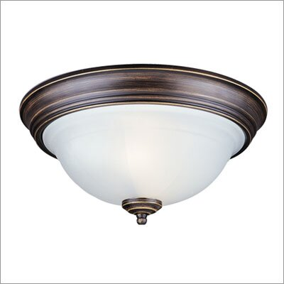 Sea Gull Lighting Canterbury 2 Light Flush Mount