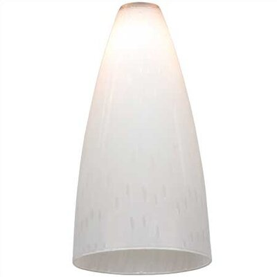 Opal Rain Glass Shade for Ambiance Track Lighting Pendants