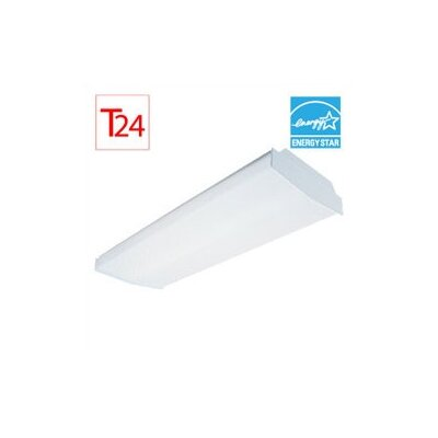 Sea Gull Lighting Complete 4 Light Fluorescent Linear Fixture - Ener