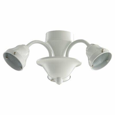 Craftmade 3 Light Disco Ball Ceiling Fan Light Kit