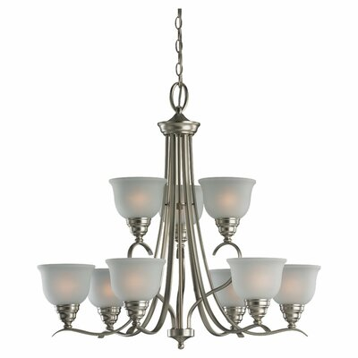 Sea Gull Lighting Wheaton 9 Light Chandelier