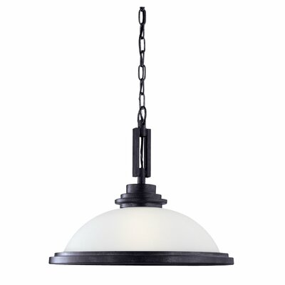 Sea Gull Lighting Winnetka 1 Light Downlight Inverted Pendant