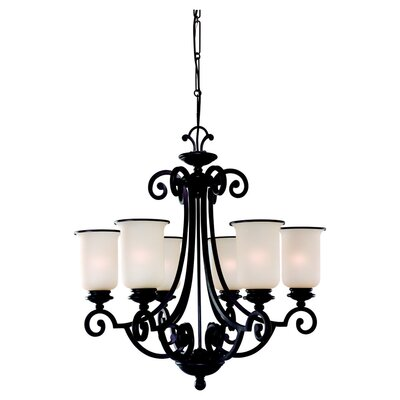 Sea Gull Lighting Acadia 6 Light Chandelier