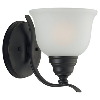 Sea Gull Lighting Wheaton 1 Light Wall Sconce
