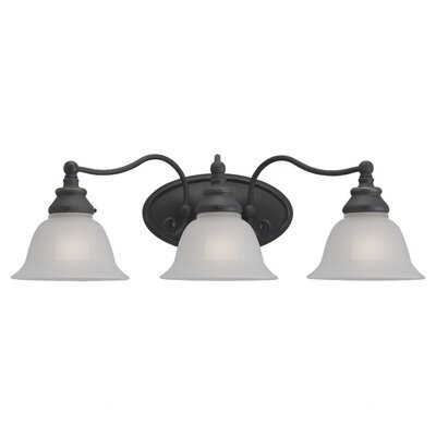 Sea Gull Lighting Canterbury 3 Light Vanity Light