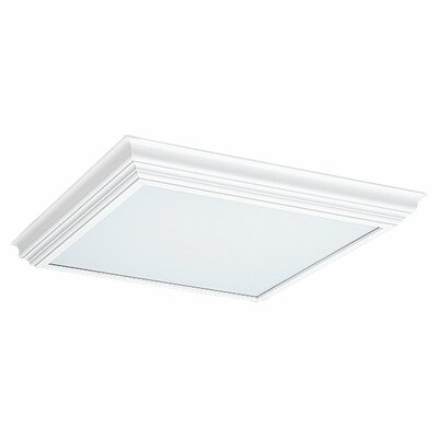 Sea Gull Lighting White Wood Cornice Fluorescent Trim (27 3/8''L x 26 3/8'' W )