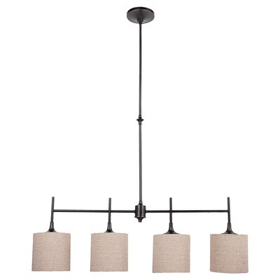 Sea Gull Lighting Stirling 4 Light Kitchen Island Pendant