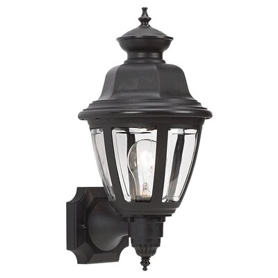 Sea Gull Lighting Belmar 1 Light Outdoor Wall Lantern