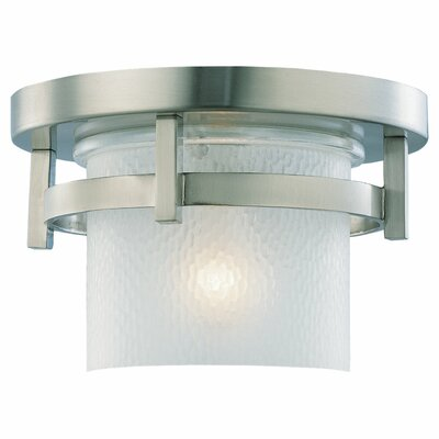 Sea Gull Lighting Eternity 1 Light Outdoor Flush Mount
