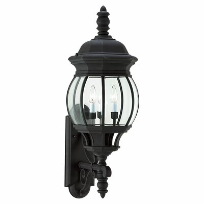 Sea Gull Lighting Winfield 3 Light Wall Lantern