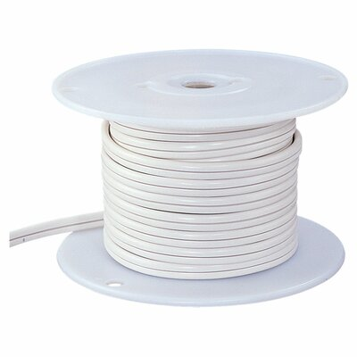 Sea Gull Lighting Ambiance Track Lighting 500' of White Cable
