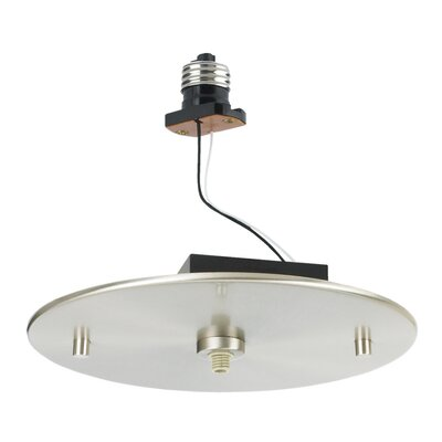 Sea Gull Lighting Recessed Housing Mono-Point Adapter in Brushed Stainless