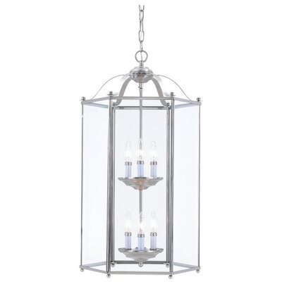 Sea Gull Lighting 6 Light Foyer Pendant